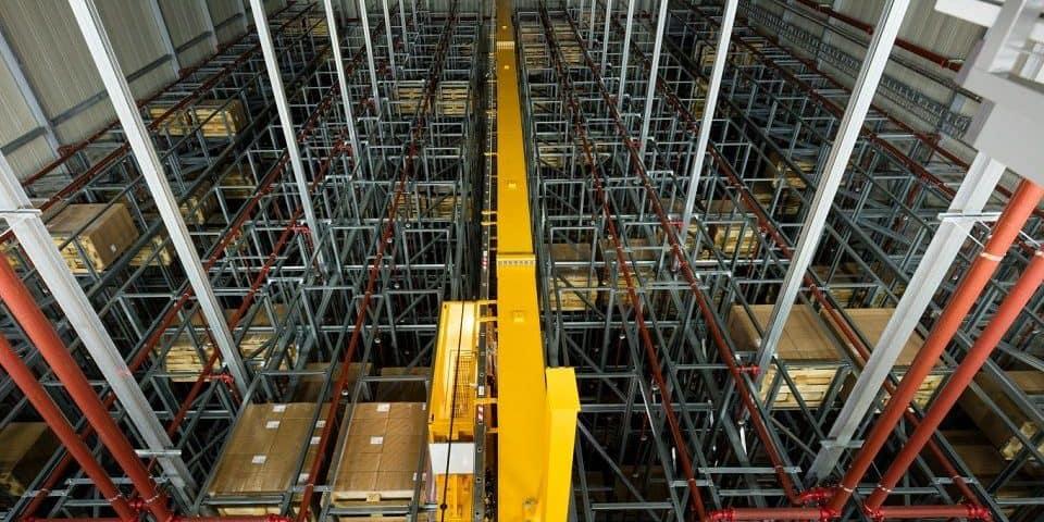 Referentie magazijn automatisering Sauer