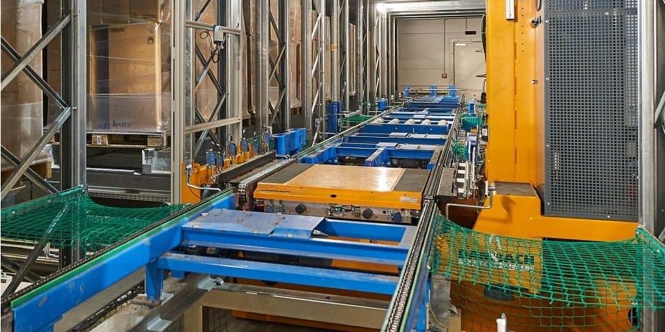 Referentie magazijn automatisering Steinbach 1
