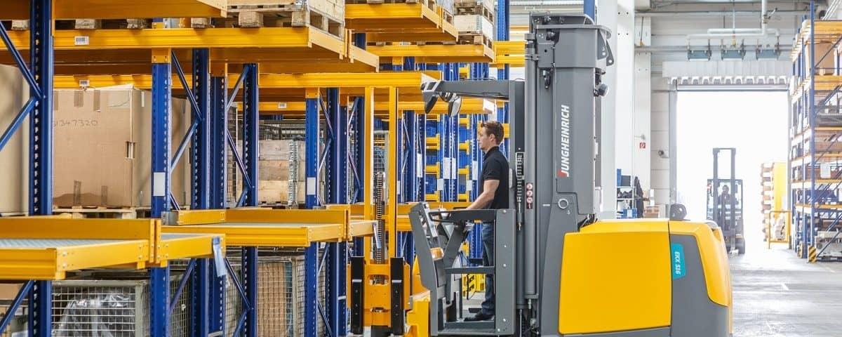 Referentie magazijn automatisering Ewald
