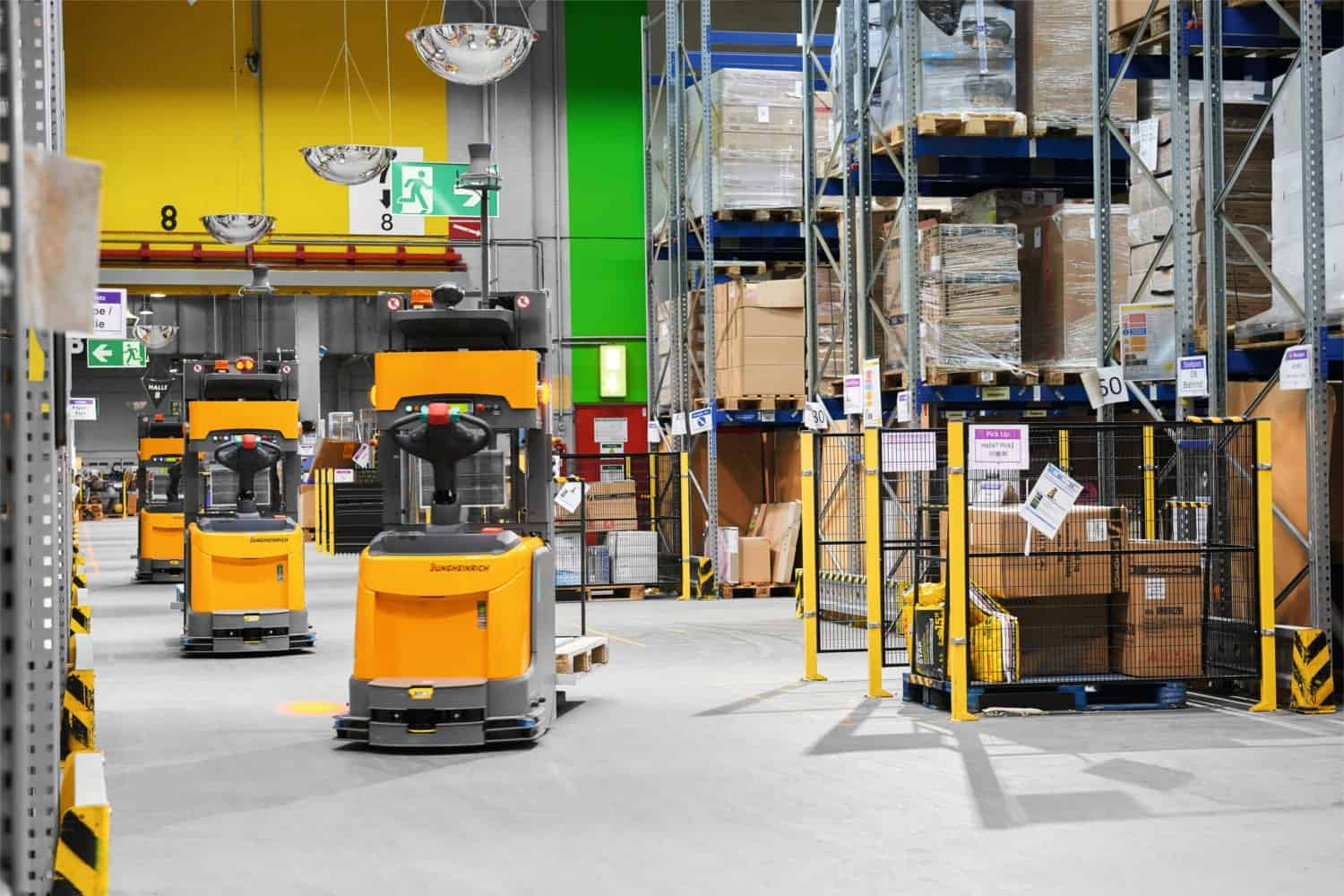 Automated Guided Vehicles Ecommerce