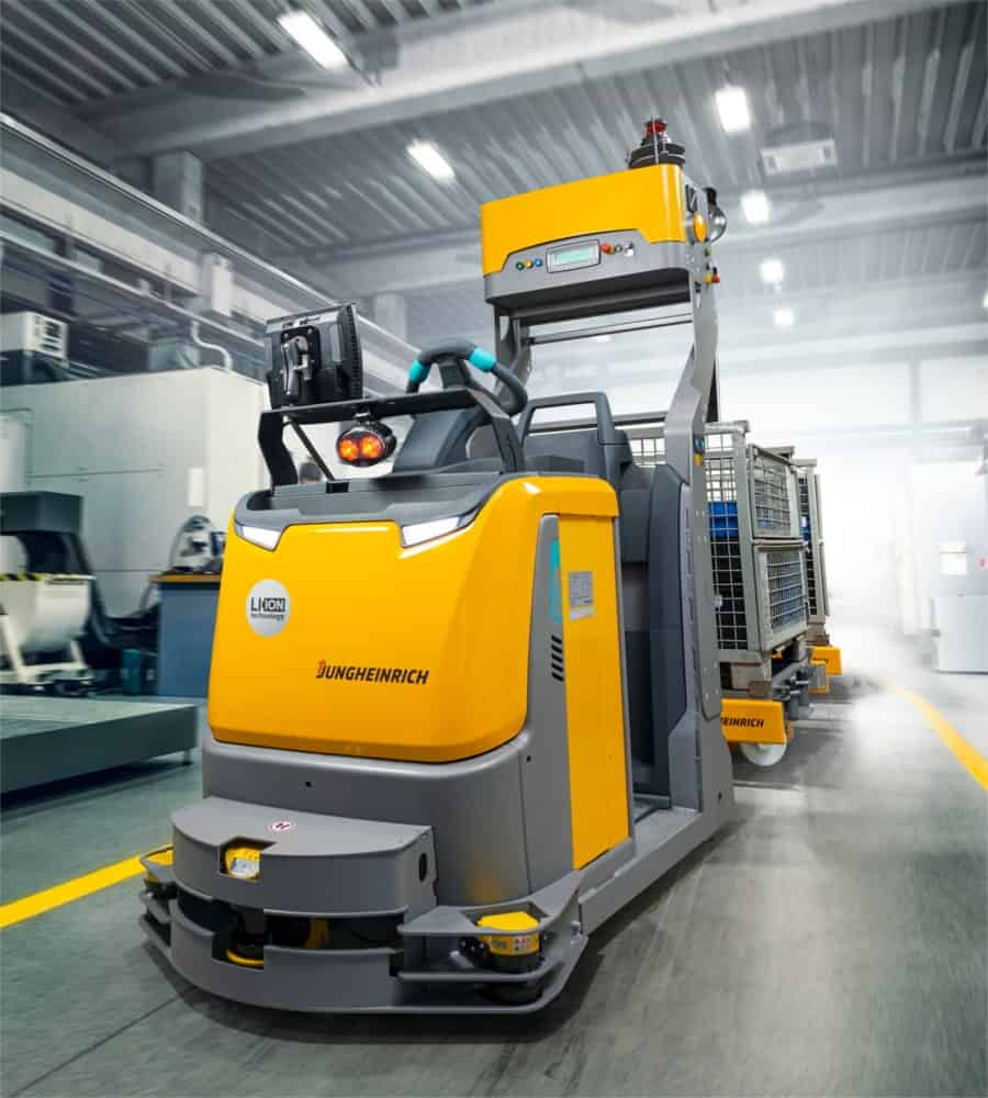 Automated Guided Vehicle Lithium-ion EZS350a