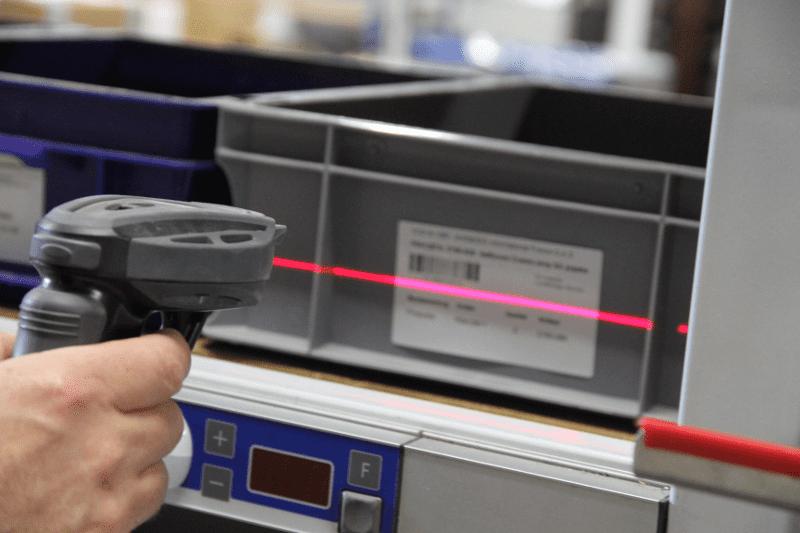 Barcode scanner sollas