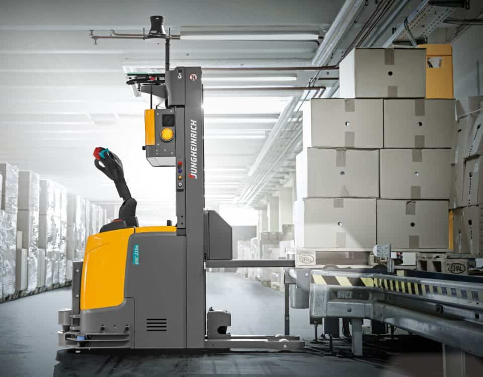Automated Guided Vehicle UVEX ERC215a