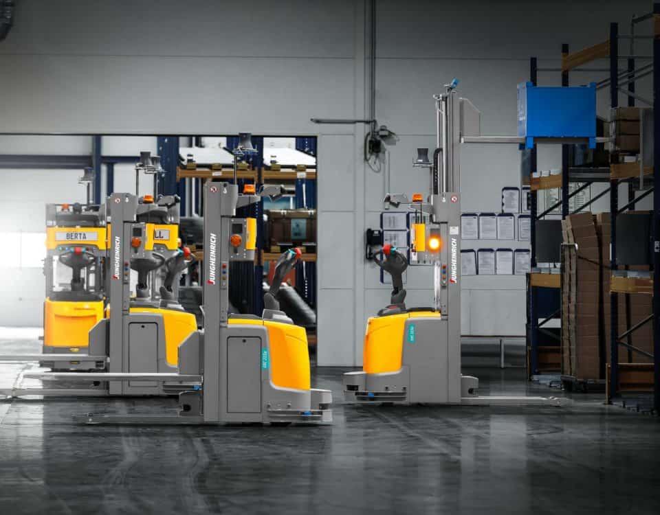 Hybride automatisering Jungheinrich