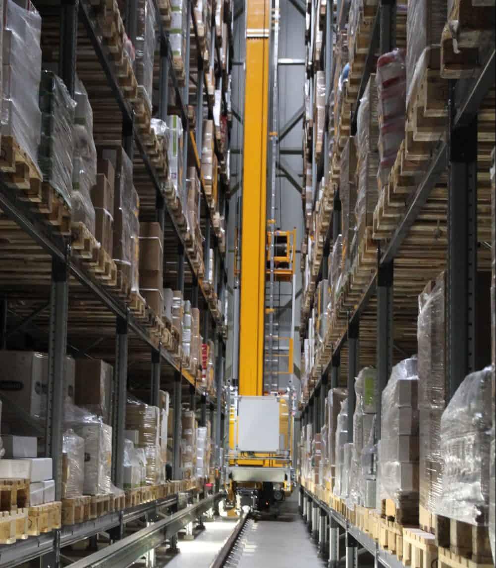 Hybride automatisering brengt Weidelco rust in het magazijn
