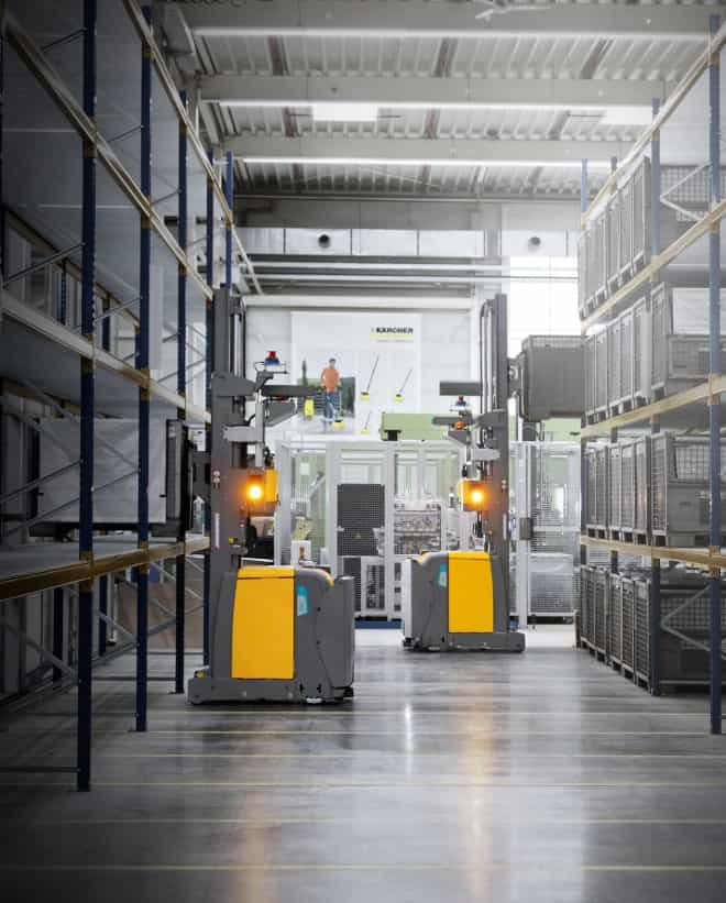 Automated guided vehicles Kaercher